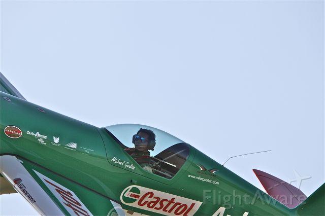 Cessna Skyhawk (N821MG) - Michael Goulian doing a low pass @ Brantford Air Show,2009