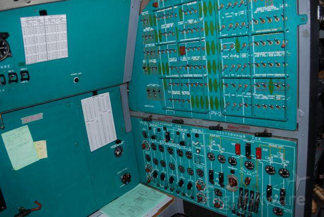 N78GF — - il78 flight radio operator panel
