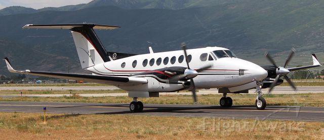 — — - Beechcraft Kingair 350 at Heber City, Utah