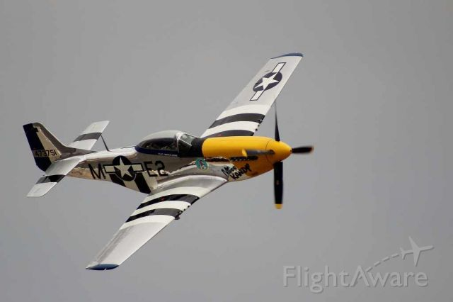 North American P-51 Mustang — - P-51 Mustang flyby at the 2013 Planes of Fame airshow in Chino, CA.