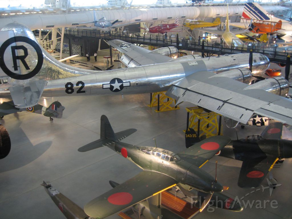 Boeing B-29 Superfortress — - Enola Gay at the Smithsonian.