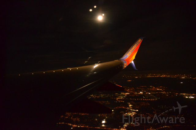 Boeing 737-800 — - Moonlight over Tampa