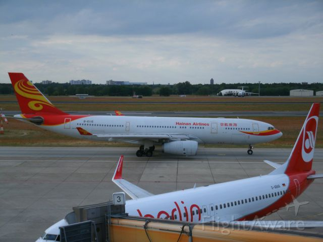 Airbus A330-300 (B-6116) - HAINAN AIRLINES - daily guest in Berlin EDDT/TXL