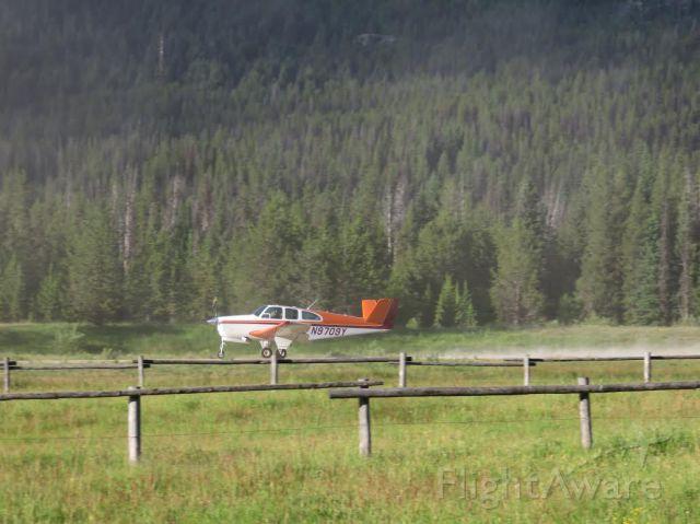 N9709Y — - Bonanza Departing Sulfur Creek Id