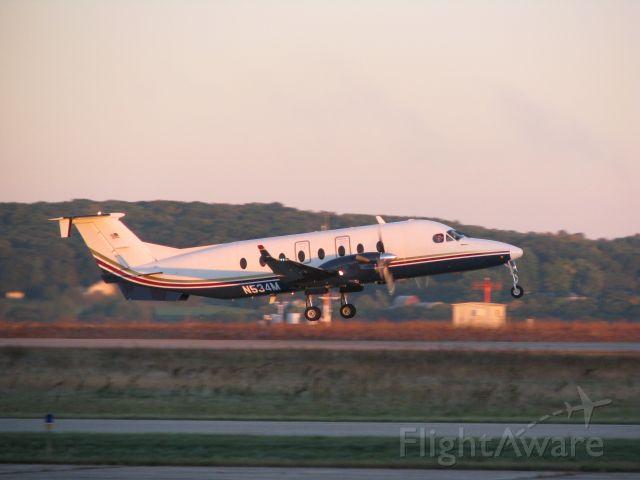 Beechcraft 1900 (N534M) - Menards early morning departure.
