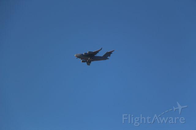 — — - C-17 Over Castlegar, BC