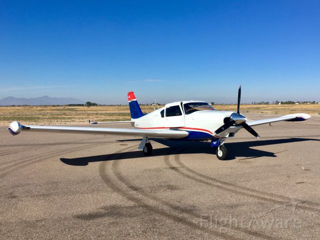 Piper PA-24 Comanche (N250GB) - On the ramp at Ak-Chin, Az