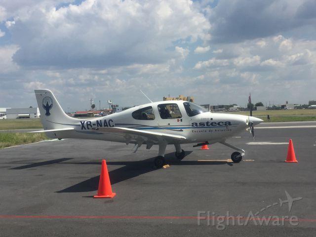 Cirrus SR-20 (XB-NAC)