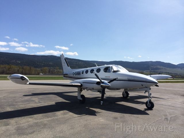 Cessna 340 (C-GVMW)