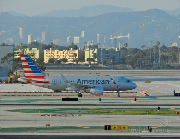 Photo Of American Airlines A319 N5007e Flightaware