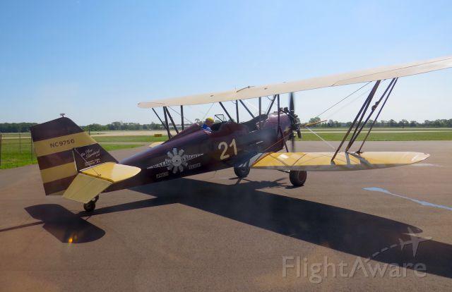 NC9756 — - New Standard D-25 Bi-plane