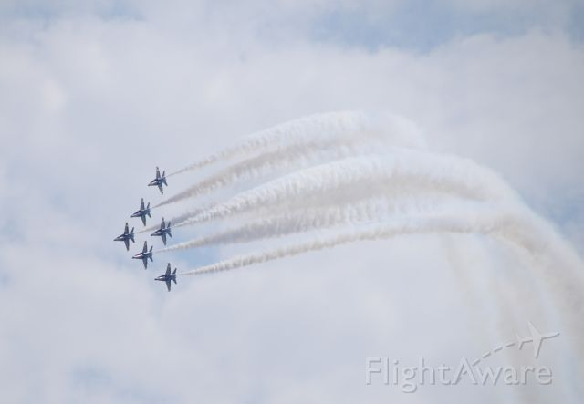 — — - Blue Angels over Seattle, August 2015