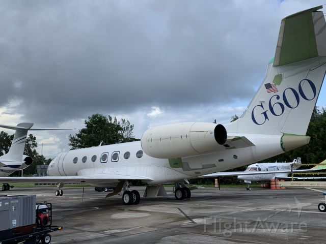 UNKNOWN — - Another angle of a G600 prototype at the Gulfstream prototype ramp in Savannah. September 2020.