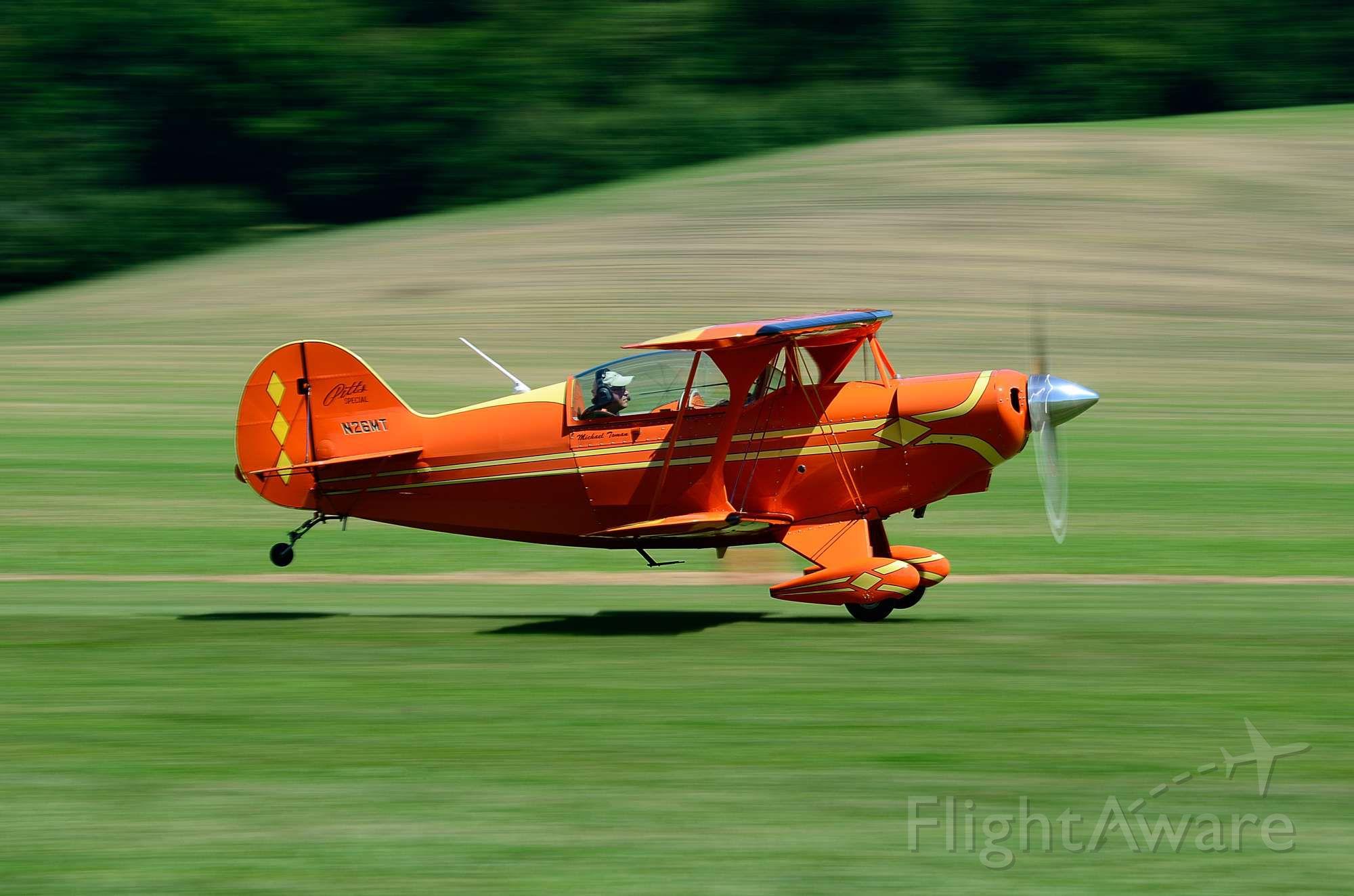 N26MT — - Departing Runway 10