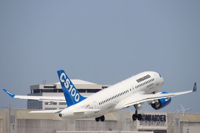 Bombardier CS100 (C-FFCO)