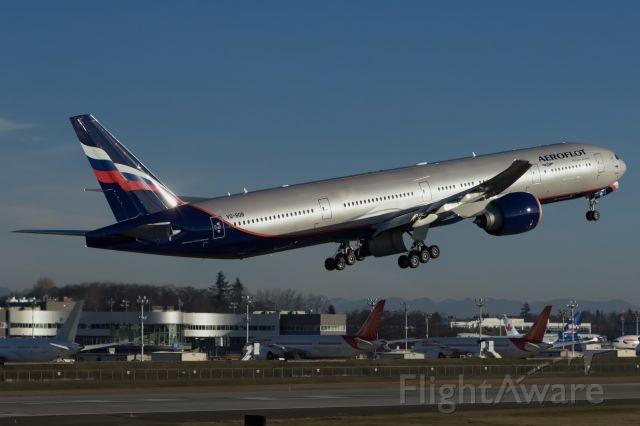 BOEING 777-300ER (VQ-BQB) - Aeroflot VQ-BQB delivered.