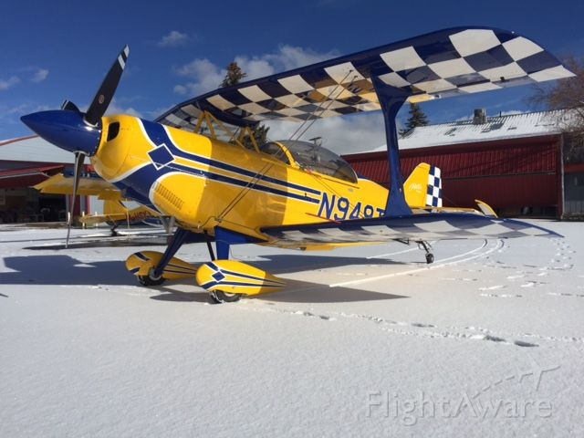 PITTS Special (S-2) (N949TT) - Completion photo !