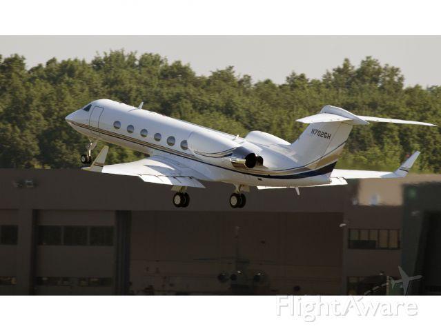 Gulfstream Aerospace Gulfstream IV (N702GH) - Powerful take off RW34.