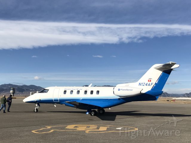 Pilatus PC-24 (N124AF) - The first Pilatus PC-24 (SN 101) preparing for departure to its new home at KPSM.