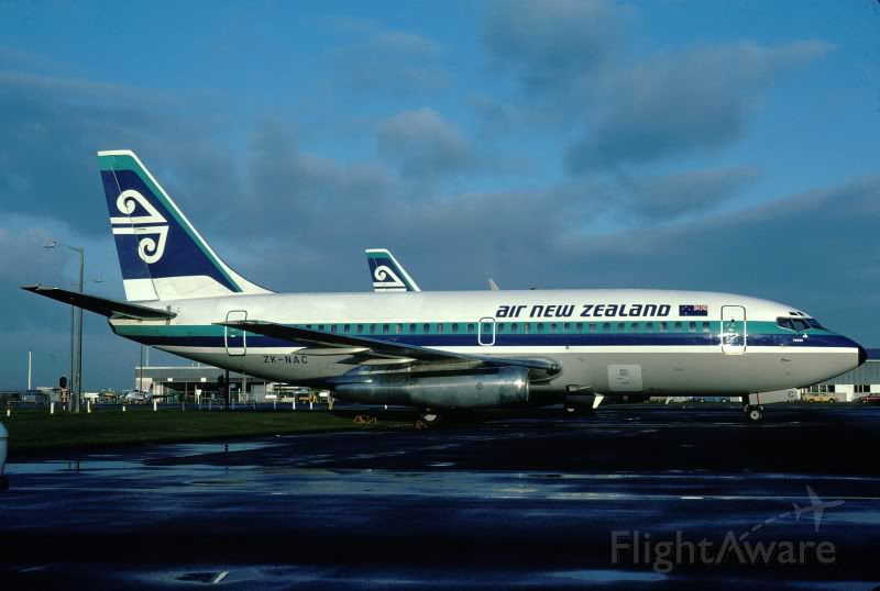 Boeing 737-200 (ZK-NAC) - Here we have a rare photo of one of air new zealand
