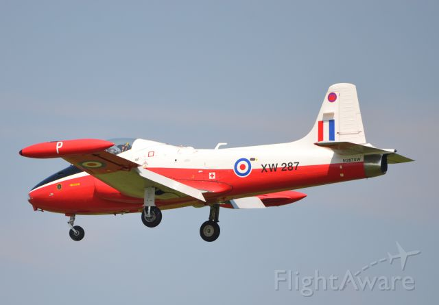 HUNTING PERCIVAL P-84 Jet Provost (N287XW)