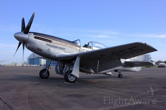 NL551CF — - North American TF-51 Mustang