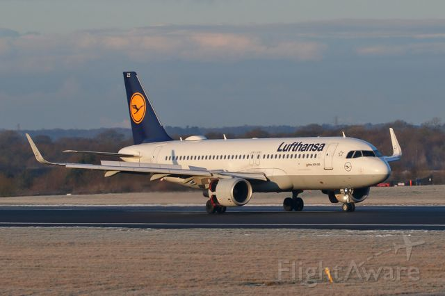 Airbus A320 (D-AIZZ) - DLH940 arriving from Frankfurt.