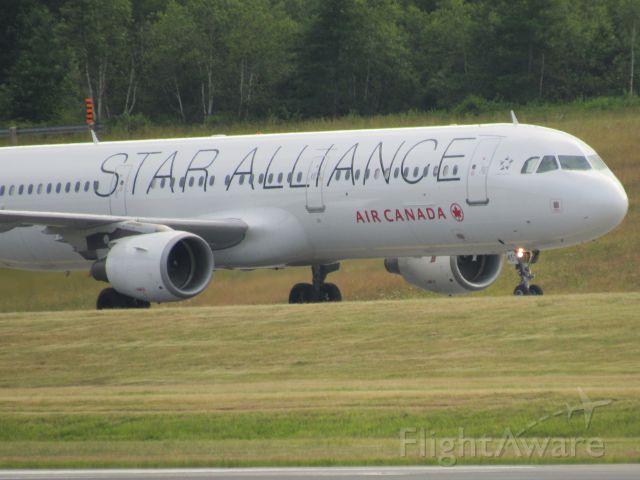 Airbus A321 (C-GITU) - Star Alliance livery