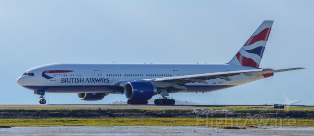 Boeing 777-200 (G-VIIK) - Shot with a Nikon D3200 w/ Nikkor 70-300mm<br />Best viewed in Full Size