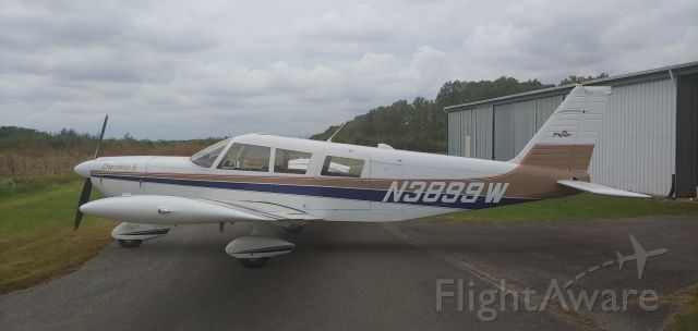 Piper Saratoga (N3899W) - Putting it away for the night