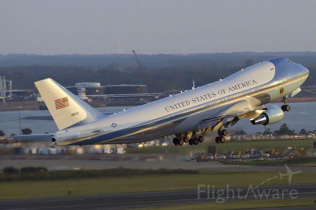 Boeing 747-200 (82-8000) - July 14, 2015