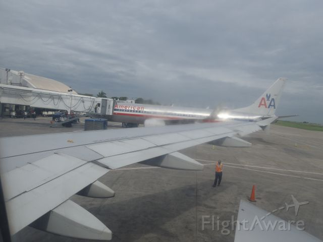 — — - A view from the tarmac at Airport Toussaint Louverture in Port au Prince Haiti-