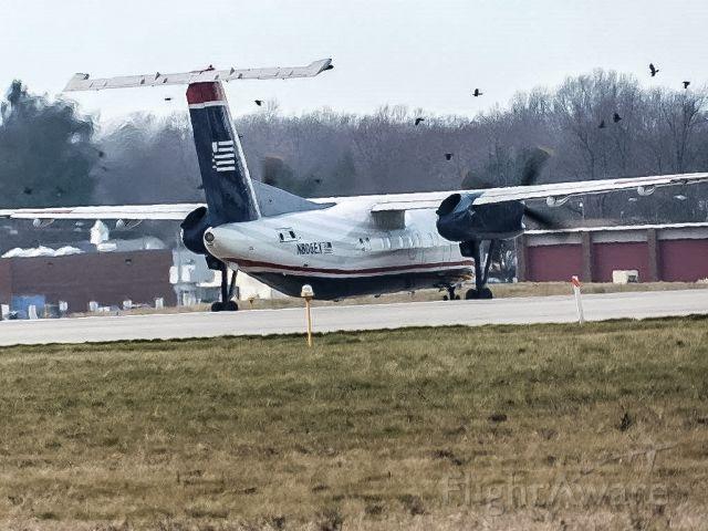 de Havilland Dash 8-100 (N806EX) - Can you follow my insta? @erieaviation ; loop off of powell