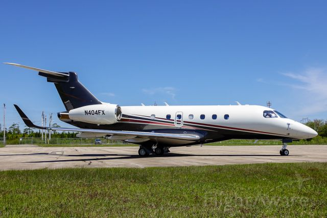 Embraer Legacy 550 (N404FX)