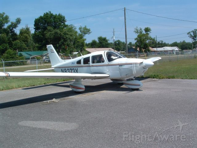 Piper Cherokee (N8373Y) - Aircraft based at KJYO - photo taken at 2R4 (Peter Prince Field Airport - Milton, Florida)