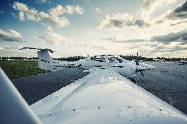 Diamond Twin Star (N266DR) - Falcon Aviation Academys Spectacular airplane!
