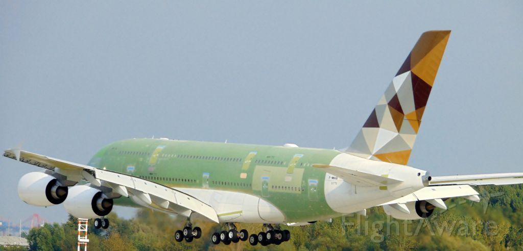 Airbus A380-800 (F-WWAB)