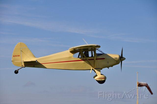 Piper PA-20 Pacer (N7413K) - Massey aerodrome MD