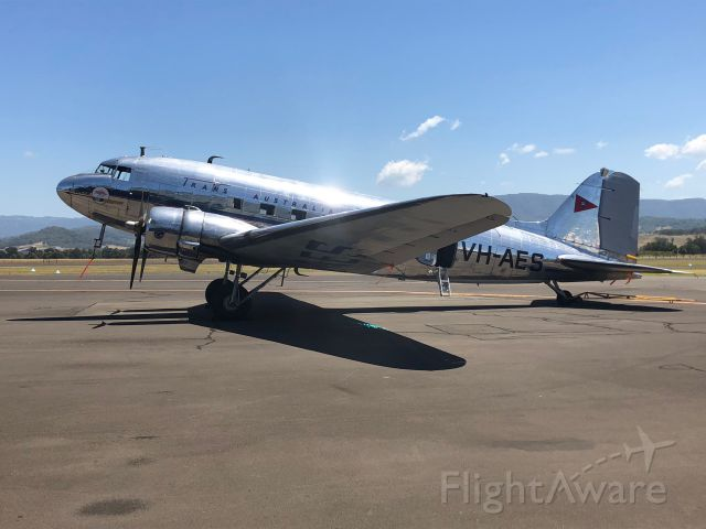 Douglas DC-3 (VH-AES) - Beautiful capture of this DC3 in great light at HARS Museum in Wollongong Australia.