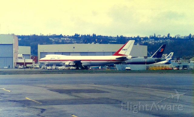 BOEING 747-100 (N7470) - KBFI - touring my old hometown and neighborhood( I lived directly behind the camera and up on the hill pre 1964) and how I missed so much at BFI when we moved away to CA in the1960s. When dad moved back to Everett in late 1980s, I
