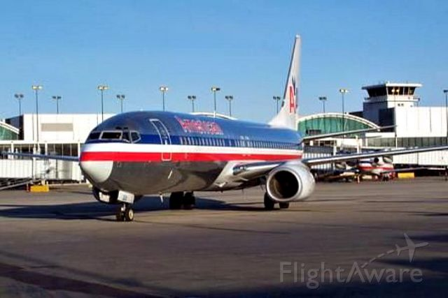 Boeing 737-700 — - Push back off of H14 at ORD.