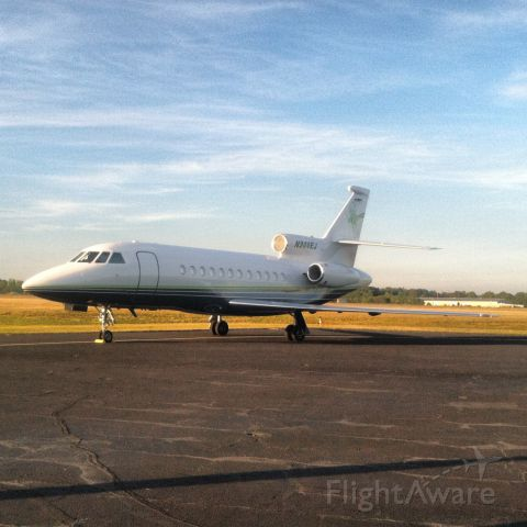 Dassault Falcon 900 (N900EJ) - Owner of Patron tequila