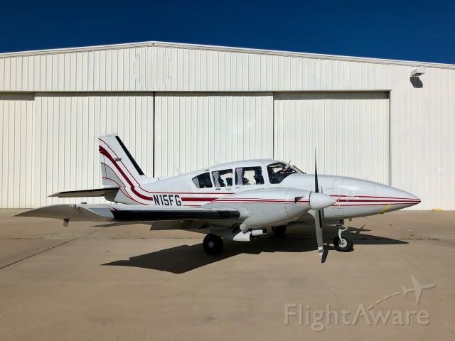 Piper Aztec (N15FG) - Direct Connect Flight Academy