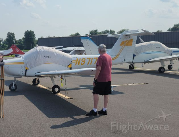 Piper Tomahawk (N9717T) - Landed back where it all started, primary training in Piper Tomahawks in 1992!!