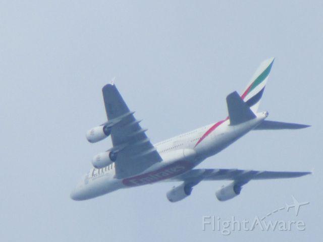 Airbus A380-800 (A6-EDW) - Rome