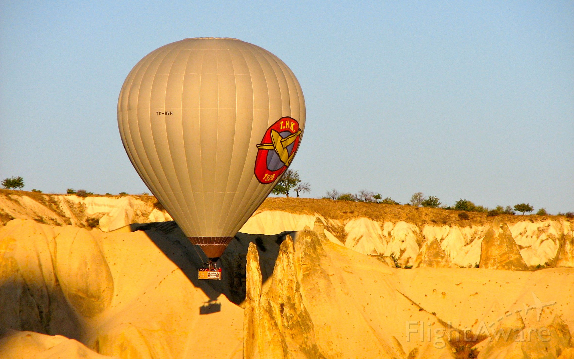Unknown/Generic Balloon (TC-BVH) - TC-BVH climbing out of the Valley of Love, Cappadocia, Turkey