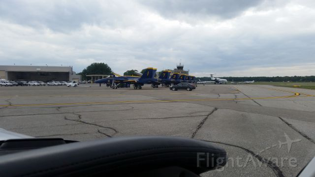 — — - More Blue Angels at Martin State Airport over Labor Day