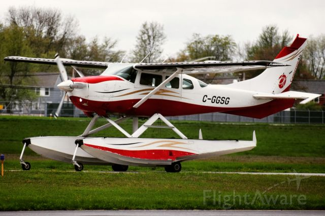 Cessna 206 Stationair (C-GGSG) - Year: ××××<br />Make: Cessna<br />Model: Stationair (TU206G Seaplane)<br />Opby: Cameron Air<br /><br />Route: KBUF --> CYHM