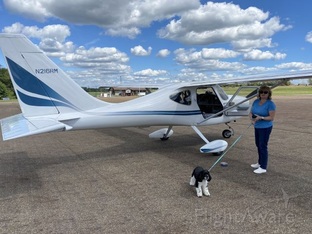 STODDARD-HAMILTON Glasair (N216RM) - Judi and Mattis ready for flight!