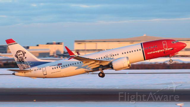 Boeing 737 MAX 8 (EI-FYB)